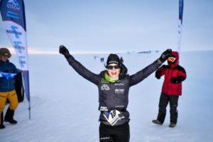 Kristina Extreme Running til World Marathon Challenge