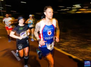 Kristina Extreme Running til World Marathon Challenge Perth